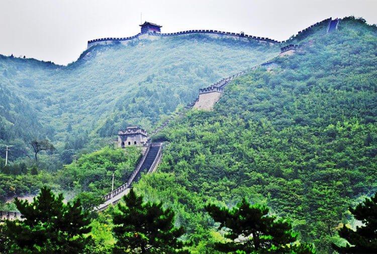 Китайская стена - «стена великих страданий»
