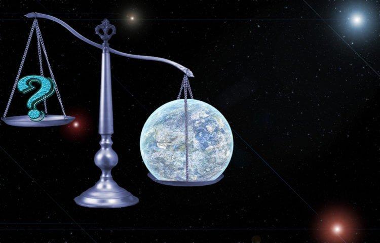 Вес планеты Земля