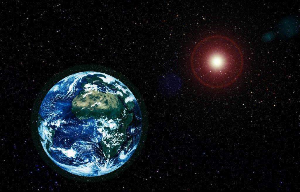 Земля - большое небесное тело