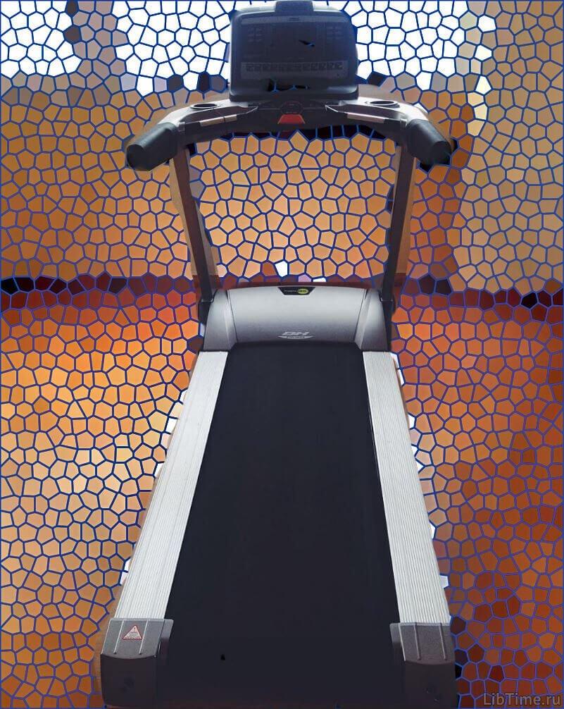 Тренажер - беговая дорожка