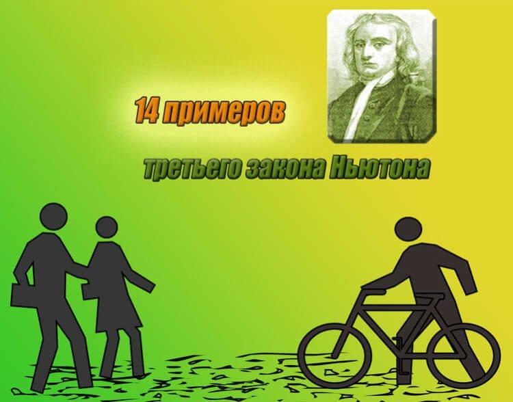 14 примеров третьего закона Ньютона
