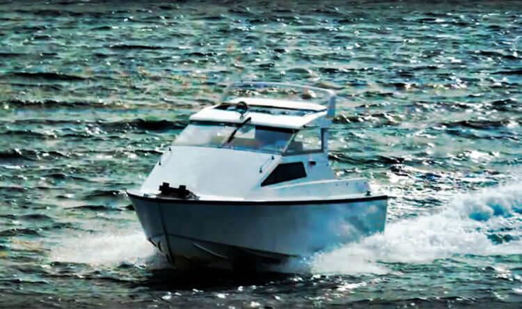 Водометный катер - самоходное судно с водно-реактивным двигателем