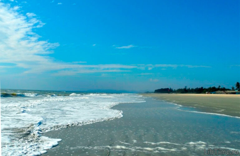 Морской прилив