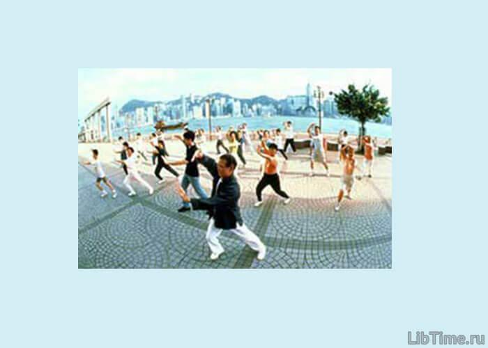 Занятия китайской гимнастикой