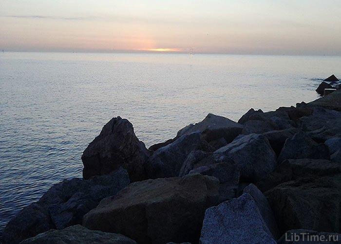 Море и суша менялись местами