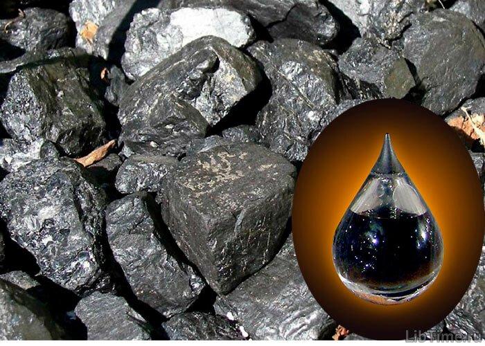 Получение нефти из каменного угля
