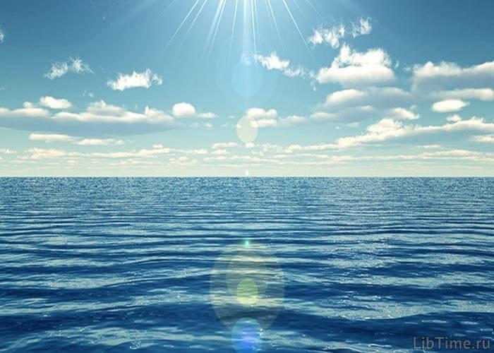 Вода океана