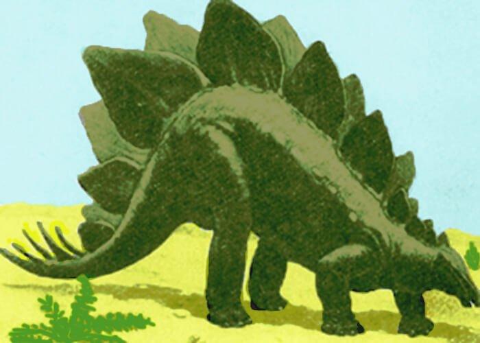 Гребенчатый ящер - стегозавр