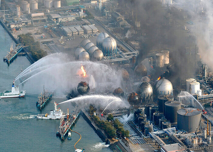 Разрушения на атомной станции Фокусимса-1