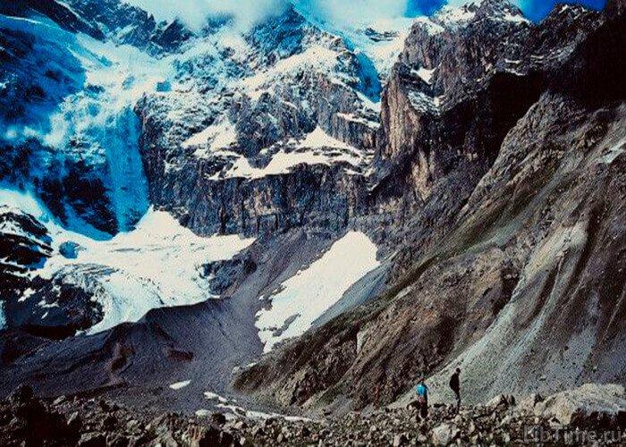 Землетрясение в горах
