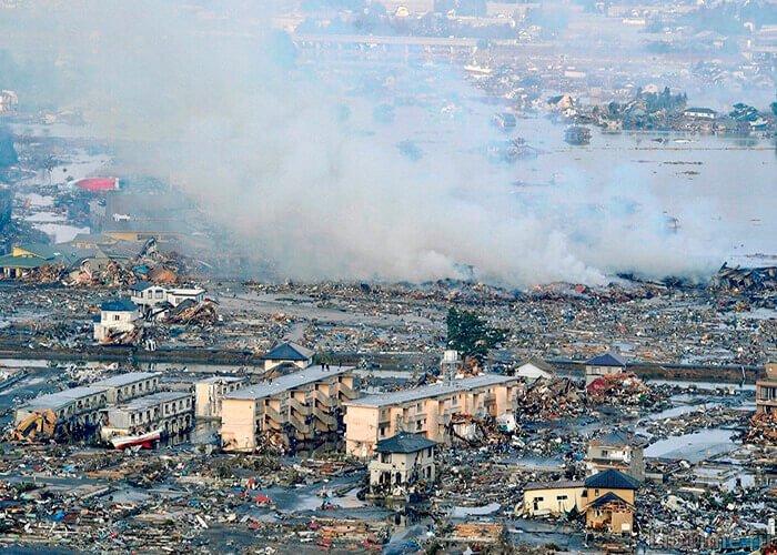 Цунами в результате моретрясения
