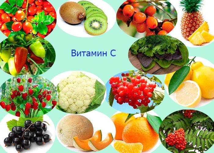 Витамины в растениях