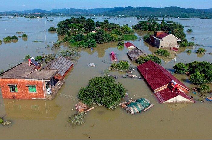 Наводнение в Голландии