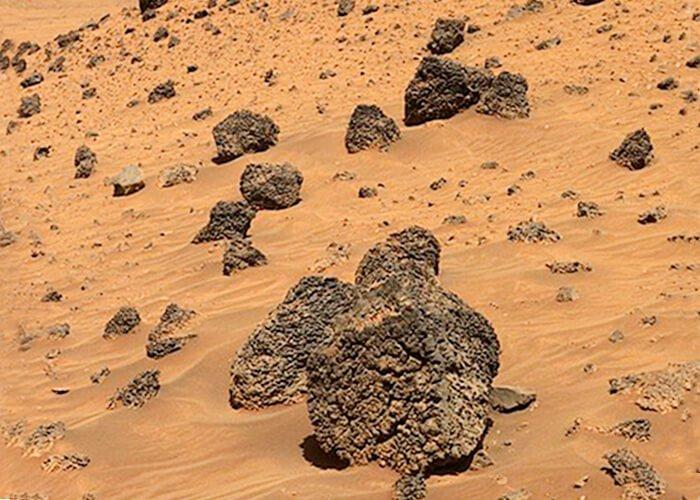 Загар пустыни