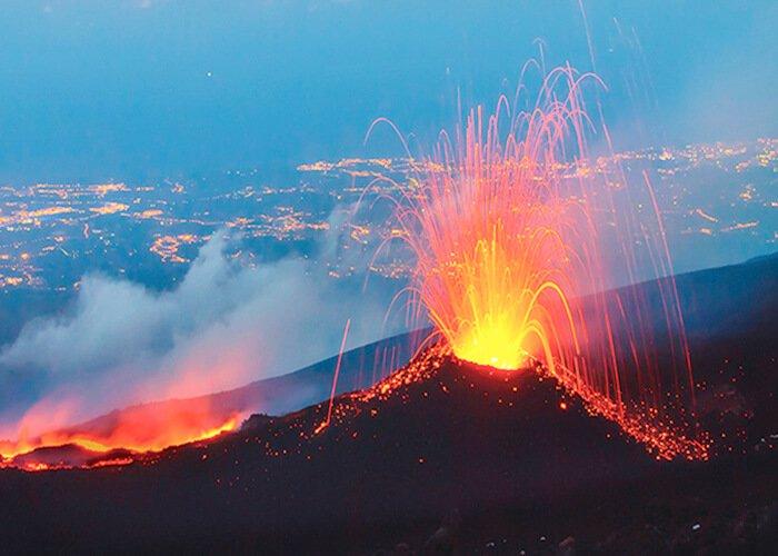 Вулканические землетрясения