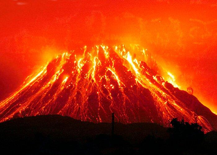 Описание вулканов
