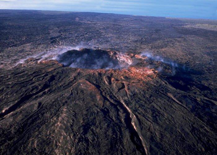 Самые сильные извержения вулканов